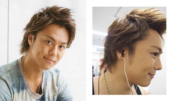 TAKAHIROさんと言えば このウルフの髪型が有名です。