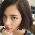 長谷川潤の髪型、ショートボブやロングの画像