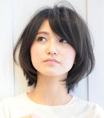 このヘアカタログの名前は「小顔☆美シルエットショートボブ」です。