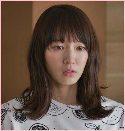 2017年の7月から放送されたドラマ「ごめん、愛してる」のときの吉岡里帆さんの髪型です。